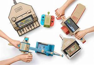 Nintendo Labo Cardboard Toy Cons For Nintendo Switch