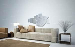 Miroir deco mosaique for Salle de bain design avec décoration murale stickers muraux autocollants