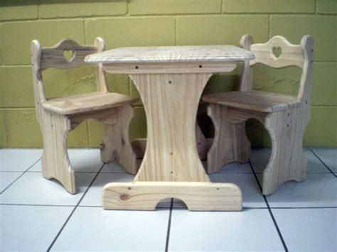 woodworking plans  childrens table  chairs woodworking plans pinterest woodworking