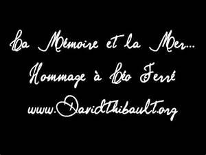 La Mémoire Et La Mer : la memoire et la mer david thibault youtube ~ Melissatoandfro.com Idées de Décoration
