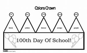 100th day of school crown With 100th day of school crown template