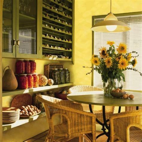 cheerful summer interiors  green  yellow kitchen designs digsdigs