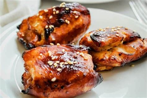 chicken fryer air thighs honey soy boneless skinless everydayfamilycooking recipes delicious frozen thigh marinate bbq marinated cooking stack easy unbreaded