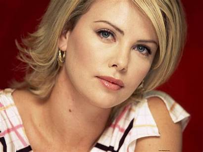 Hollywood Celebrity Celebrities Wallpapers Female Charlize Magdalena