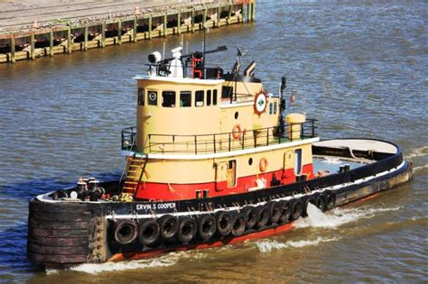 Yellow Tugboat by Tugboat Information