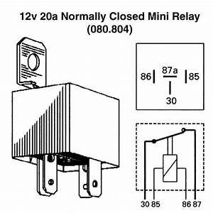 Normally Closed Relay Diagram