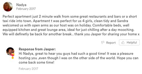airbnb host review why you should respond to every single airbnb review