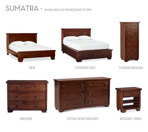 sumatra ii bed pottery barn