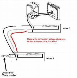 Dimplex Baseboard Heater Thermostat Wiring Diagram