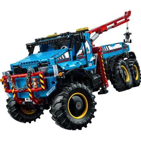 lego 6x6 all terrain tow truck set 42070 brick owl