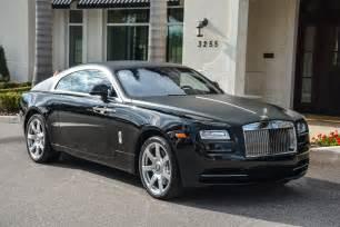 Black Rolls-Royce Wraith