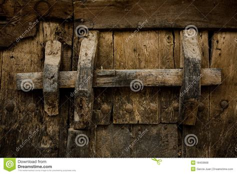 home design door locks ancient wooden lock royalty free stock photos image