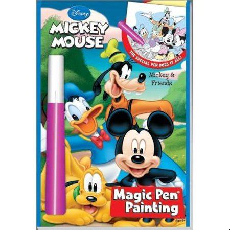 Kitchen Magic With Mickey Book by Mickey And Friends Magic Pen Painting Book Walmart