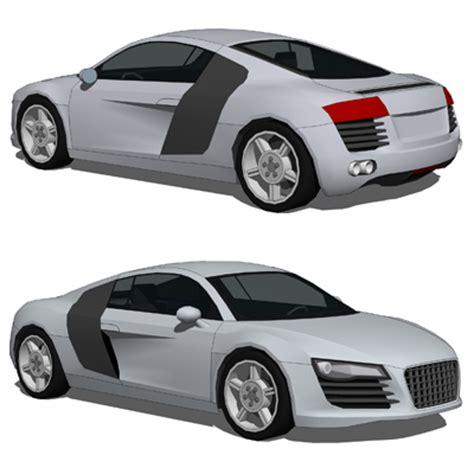 Audi R8 3d Model  Formfonts 3d Models & Textures