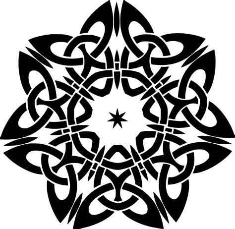 SVG > ornamental star decorative line - Free SVG Image ...