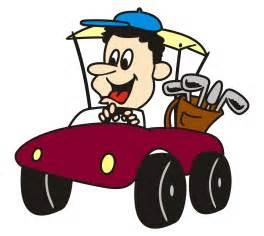 Cartoon Golf Carts