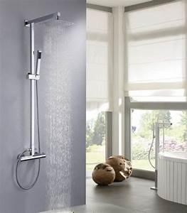 Duschkopf Für Durchlauferhitzer : design duschsystem duschs ule thermostat 8821c basic auswahl duschkopf eckig badewelt ~ Heinz-duthel.com Haus und Dekorationen