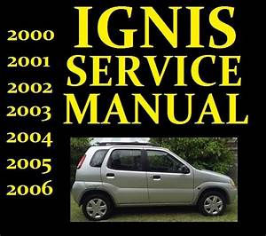 Suzuki Ignis Service Workshop Repair Manual Wiring