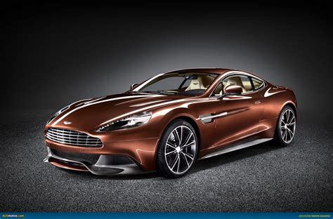 ausmotivecom aston martin vanquish revealed