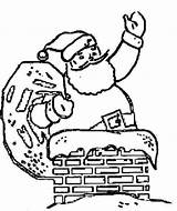 Christmas Coloring Fireplace Father Chimney Pages Drawings Printable Santa Chimneys Colouring Drawing Cliparts Quotes Sheet Clip Library Clipart Getcolorings sketch template