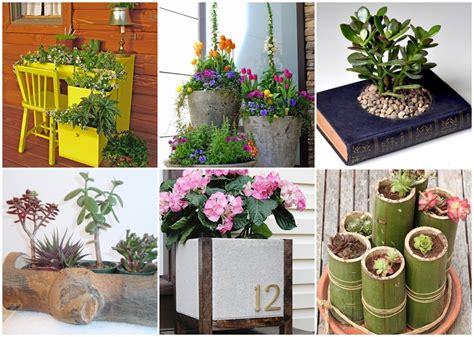 24 ไอเดีย DIY กระถางดอกไม้จากของเหลือใช้ ประหยัดงบไปได้อีก   NaiBann.com