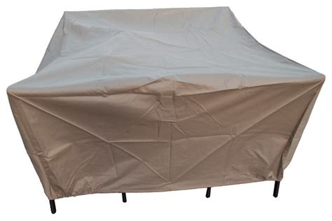 all weather outdoor furniture covers in beige heavy duty