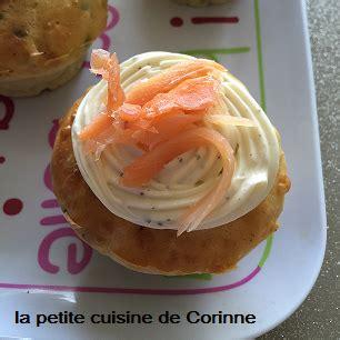 la cuisine de corinne cupcakes saumon fumé la cuisine de corinne