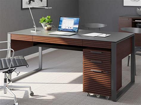 bdi sequel executive desk bdi corridor executive office chocolate stained walnut