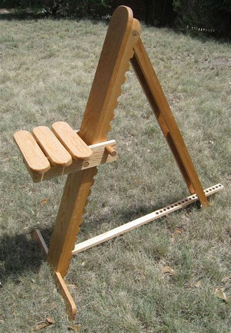 adjustable astronomy observation chair wood working