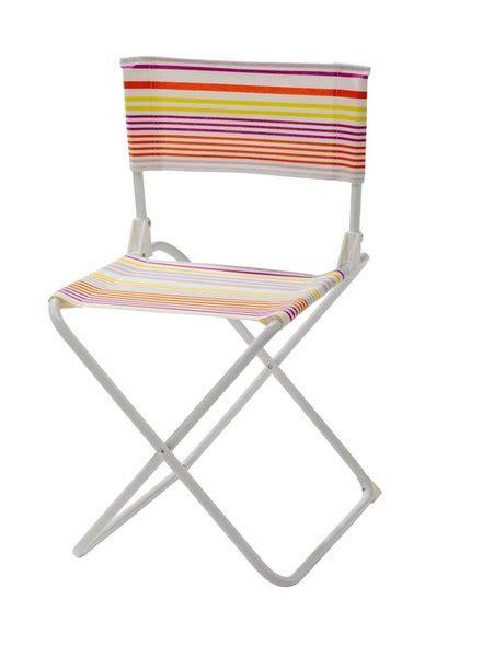 chaise pliante toile cing meubler balcon galerie photos d 39 article 4 14