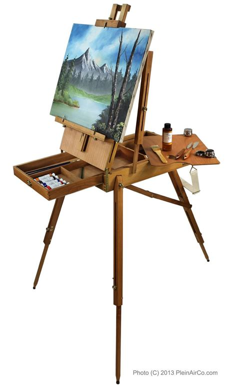 pleinairco french artist easel drawing  painting