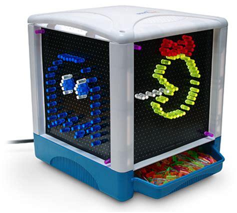 light bright cube lite brite cubed craziest gadgets