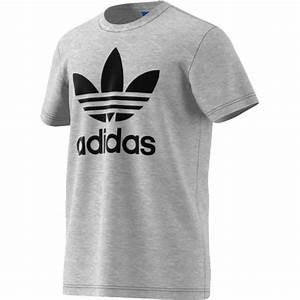 Tee Shirt Adidas Original Homme : adidas original trefoil t shirt homme gris gris gris achat vente t shirt cdiscount ~ Melissatoandfro.com Idées de Décoration