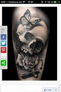 Tattoos Mit Bedeutung Für Frauen : bedeutung totenkopf tattoo mit rose und kreuz ~ Frokenaadalensverden.com Haus und Dekorationen