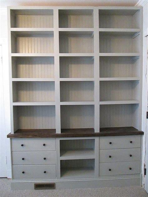 Discount Bookshelves by Wall Bookshelves With Ikea Rast Drawer Base Ikea Hacks