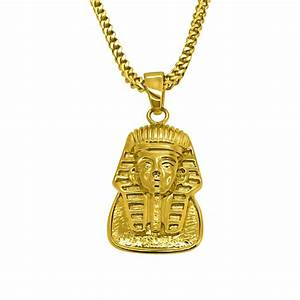 HipHopBling Gold Egyptian Pharaoh Pendant - New Hip Hop ...