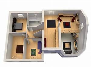 le plan du modele nebraska demi niveau mezzanine With plan maison demi niveau