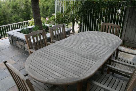 weekend project teak maintenance yard ideas blog