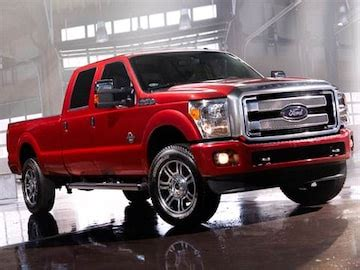 ford  super duty crew cab pricing ratings