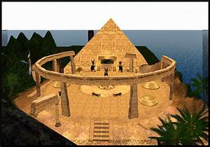 Ancient Egypt Inside Of A Temple ~ crowdbuild for