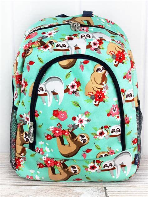 school personalization  monogram backpack personalized backpack kids