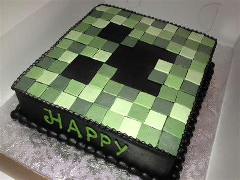 minecraft creeper cake mine craft creeper cake birthday crafts