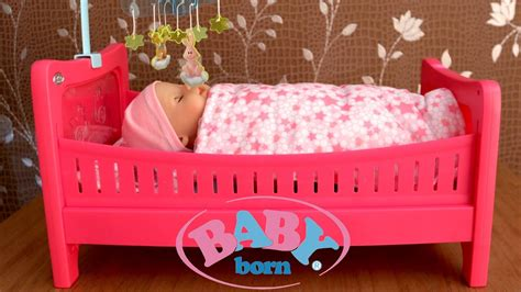 25924 baby doll bed baby born bed baby doll like real drinks and cries