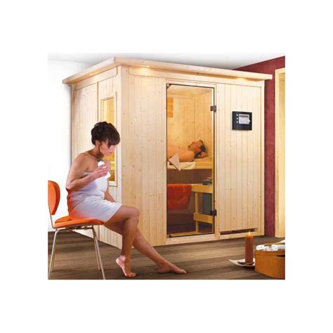 sauna and play sauna traditionnel fanja play 4 places 68mm karibu
