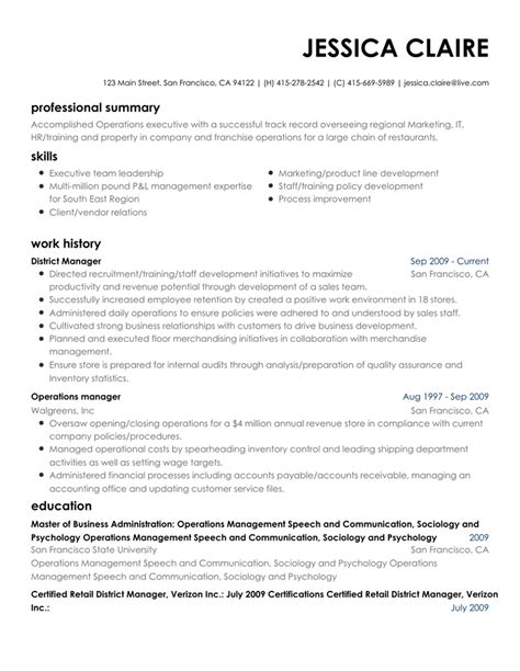 Resume Creator by Resume Maker Write An Resume With Our Resume Builder