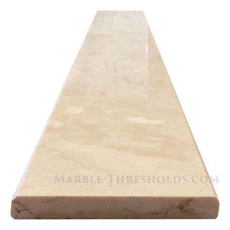 crema marfil threshold marble threshold saddle size 36 x 6 x 3 4 inches