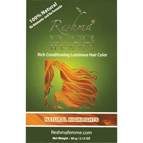 reshma henna semi permanent color