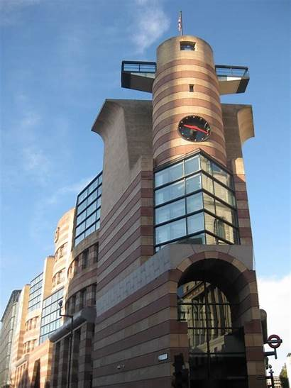Poultry London Number Architect Building Architecture Postmodern