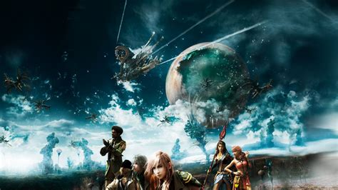 final fantasy xiii team wallpaper  final fantasy