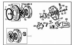Diagram  Clutch  U0026 Flywheel  Verto